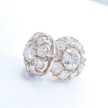 Sydney estate jewellery, Art Deco Earrings, Antique earrings, Vintage Earrings, Daisy earrings,