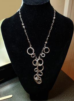 Estate Age White Gold necklace