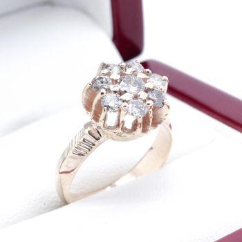 Daisy ring, Antique ring