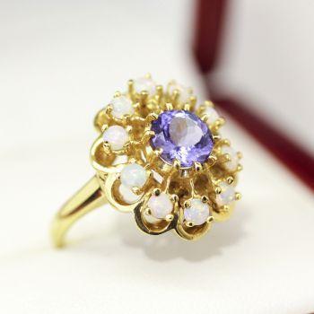 Sapphire ring, Diamond ring