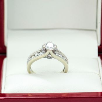 Vintage Engagement Ring, Sydney Vintage and Antique Jewellery, Estate Jewellery Sydney