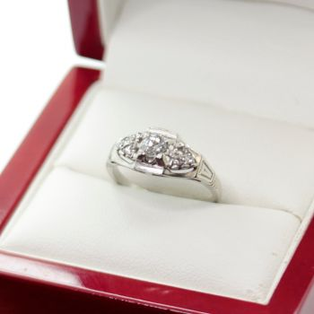 Art Deco engagement ring, Sydney Vintage Jewellery
