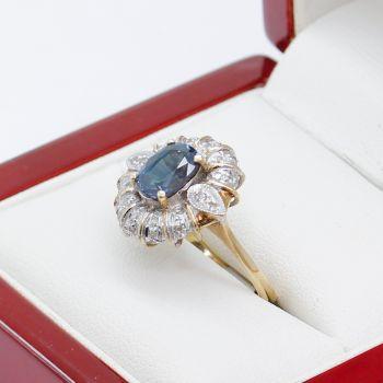 Vintage Sapphire and Diamond Rings