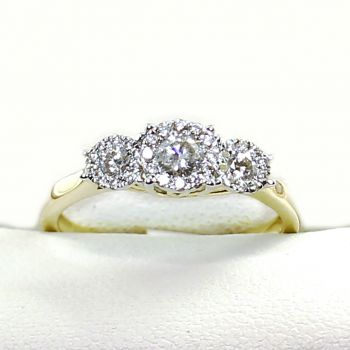 Vintage Inspired Engagement Ring, Yellow Gold Diamond Ring, Diamond Ring,  Engagement Ring, Antique Jewellery Sydney, Estate Jewellery, Antique Engagement Ring, Vintage Diamond Ring,