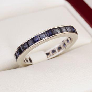 Vintage Sapphire eternity ring