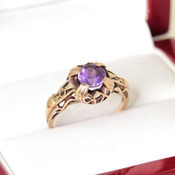 vintage rings, antique rings, amethyst rings, estate jewellery, antique jewellery sydney