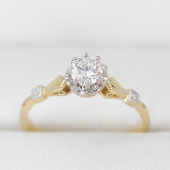 Hand Made Vintage Diamond Rings