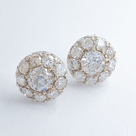 Sydney estate jewellery, Art Deco Earrings, Antique earrings, Vintage Earrings, Daisy earrings,