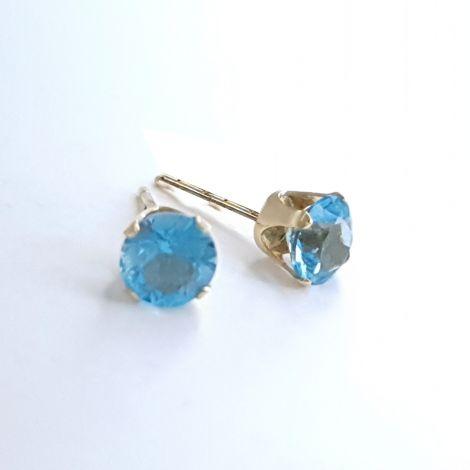 Vintage Topaz earring studs