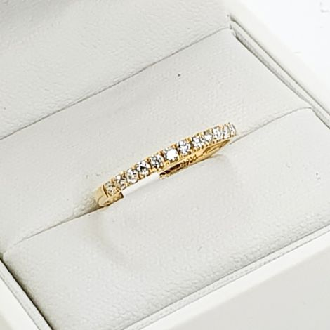 Half Eternity Diamond Anniversary Band