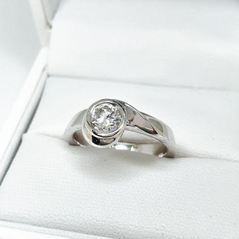 White Gold Engagement Ring Sydney