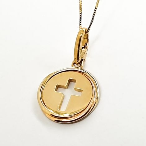 Cartier Gold Cross Pendant