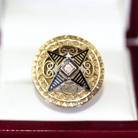 Diamond Pendant, Antique Diamond Necklace, Antique Jewellery Sydney, Vintage Jewellery Balmain, Sydney Antique Centre