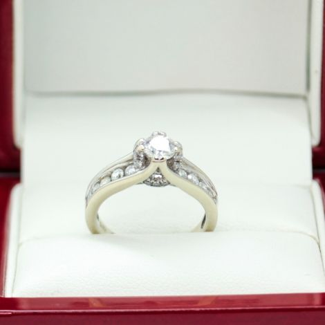 Vintage Engagement Ring, Sydney Vintage and Antique Jewellery, Estate Jewellery Sydney