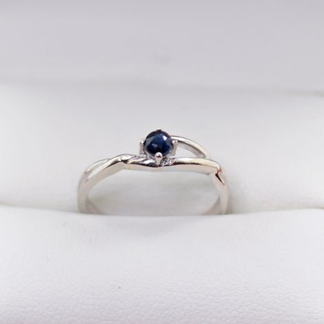 Vintage White Gold and sapphire Rings