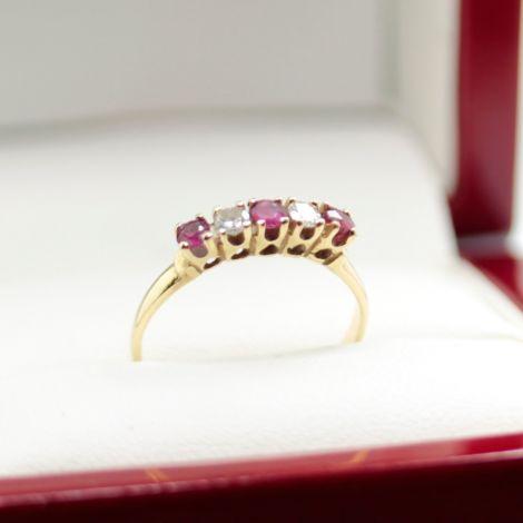 Vintage Ruby Ring Sydney