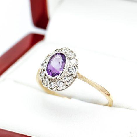 Vintage and Antique Jewellery, Vintage Engagement Rings, Antique Engagement Rings, Antique Jewellery, Vintage Jewellery Sydney, Amethyst Gold Rings, Sydney Antique Gold rings, Sydney Antique Rings,