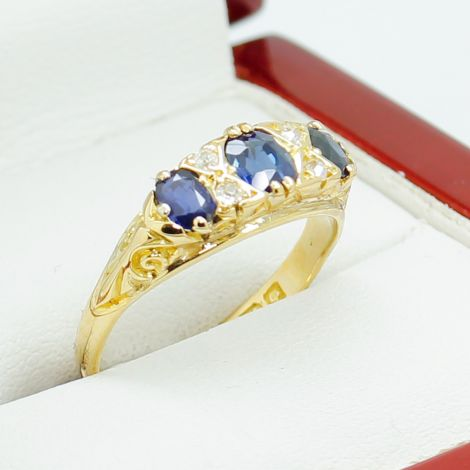 Hand Made Yellow Gold Vintage Rings