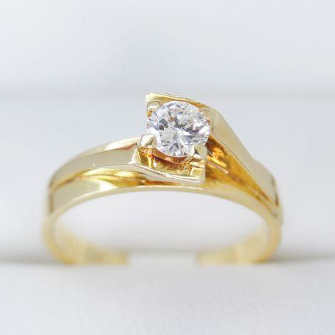 Sydney Diamond Rings, Solitaire Diamond Engagement Ring, Lovely Setting Gold Diamond Engagement Ring, Unique Set Diamond Ring, Vintage Engagement Ring, Gold Vintage Diamond Engagement Ring,