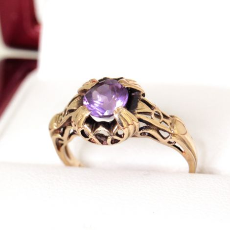 vintage rings, antique rings, amethyst rings, estate jewellery, antique jewellery sydney