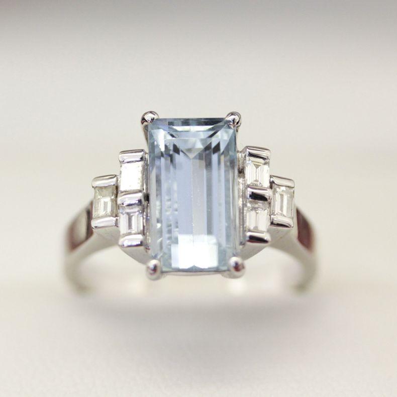 Art Deco Style Ring Design